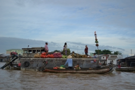 <h5>Can Tho floating market</h5>